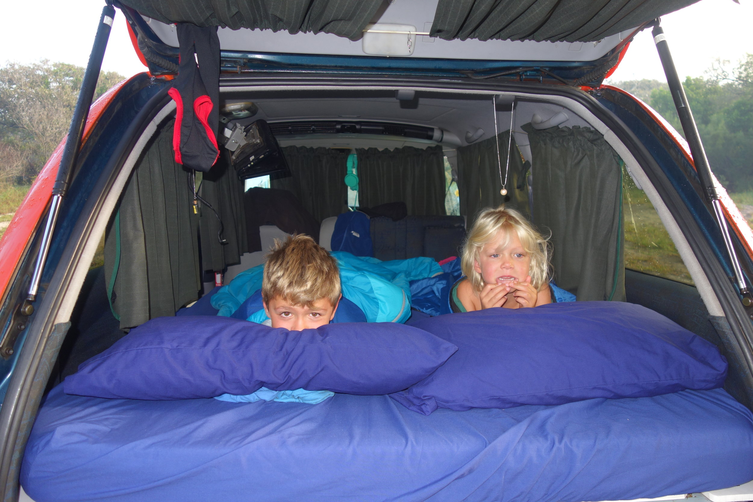 Car camping in New Zealand