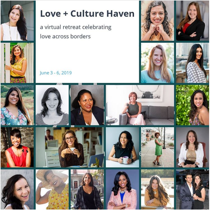 """Speaker: Websummit """"Love+Culture Haven"""" - a virtual retreat celebrating love across borders: Talking how different aspects of culture will affect your relationships"""