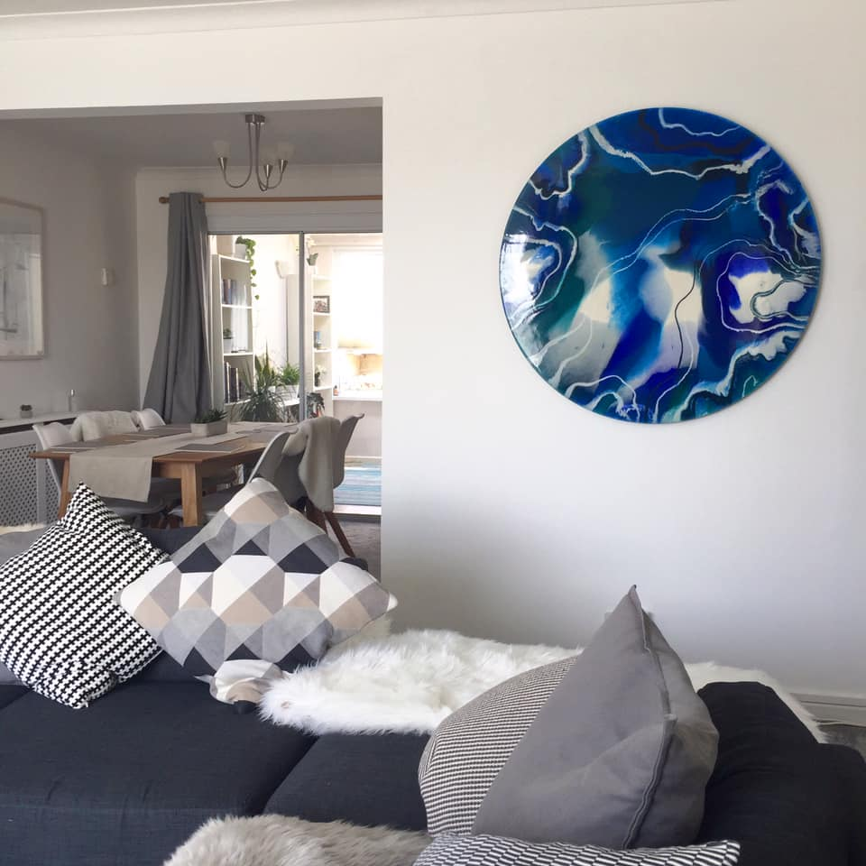 'Rising Tides'- Artists home