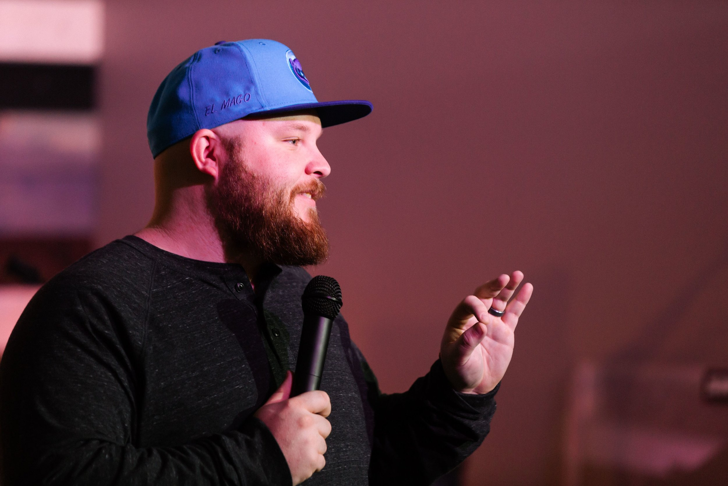 TJ Earl Student Pastor - Hey guys, my name is TJ Earl. I have a passion to make disciples out of the next generation in Knoxville. I graduated from Liberty University with a BA in Religious Studies and am working on my ThM at Dallas Theological Seminary. I am passionate about other things as well. Things like eventually beating Alabama on the third week of October and seeing the Cubs win another World Series. I love music and super hero movies. If you want to know more we can enjoy a cup of Coffee at K Brew together, my treat.