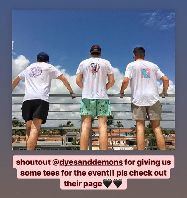 We'd love to give @dyesanddemons a massive shoutout for letting us spread their message though JailBreak❤️ They do some amazing stuff for great causes so please head over to their Instagram & their website, learn about their cause and BUY A TEE!  Very excited to see how they blossom over the years ❤️