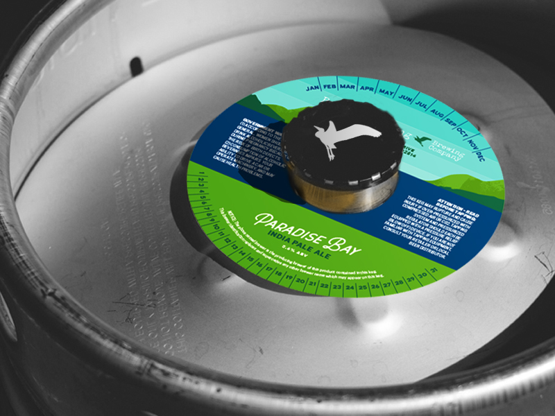 Labels Galore - The label system expanded from tap handles to limited release bottles and even custom keg collars.