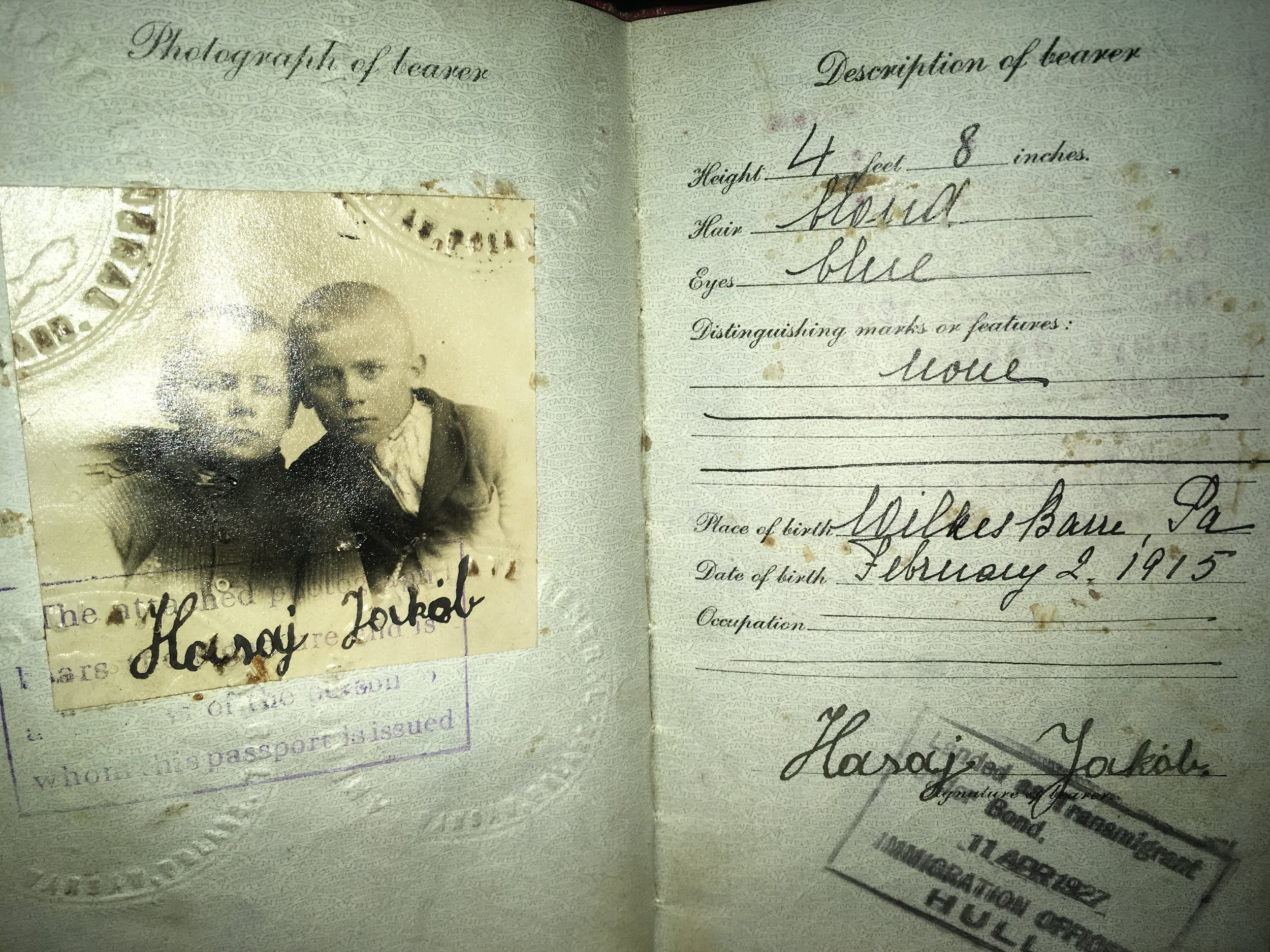 Grandfather Polish Passport Photo.JPG