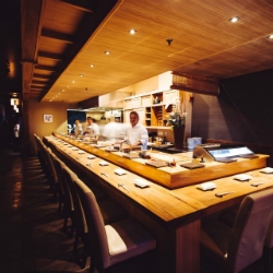 KUSAKABE  「・」 This high-end sushi spot offers a light-soaked, Zen-like space for sushi, sake, wine & beer.
