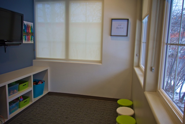 Pediatric Play & Waiting Area