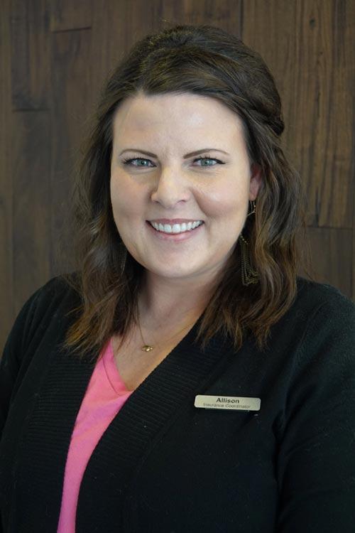 Allison, Insurance Coordinator