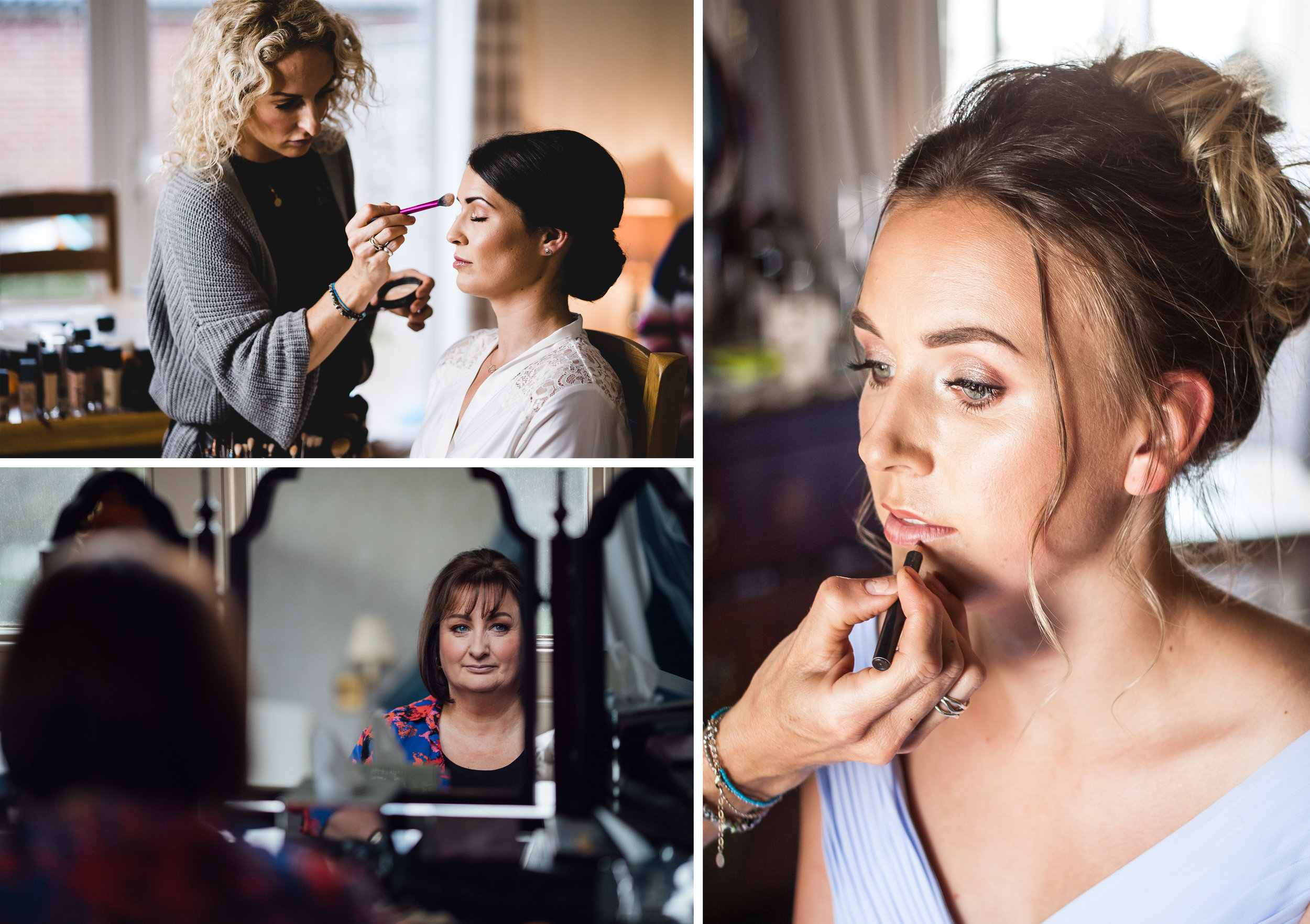 Professional Makeup - from £50If you'd like your makeup done professionally, award-winning Sally from sallysmakeup.co.uk is here to provide you with a relaxing pamper and confidence boost before your shoot. Sally's style is very natural, focusing on accentuating your natural beauty and helping you to feel completely relaxed during your shoot.Please note that Sally is only available on weekdays.