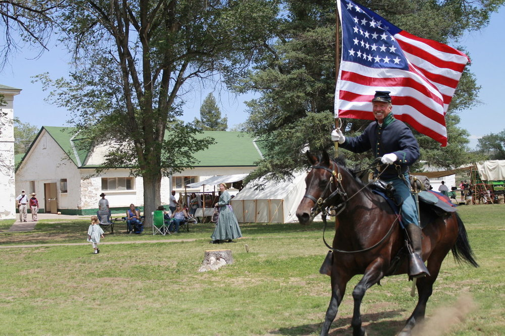 Fort Stanton re-enactment -  Photo Credit