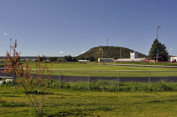 Capitan school grounds