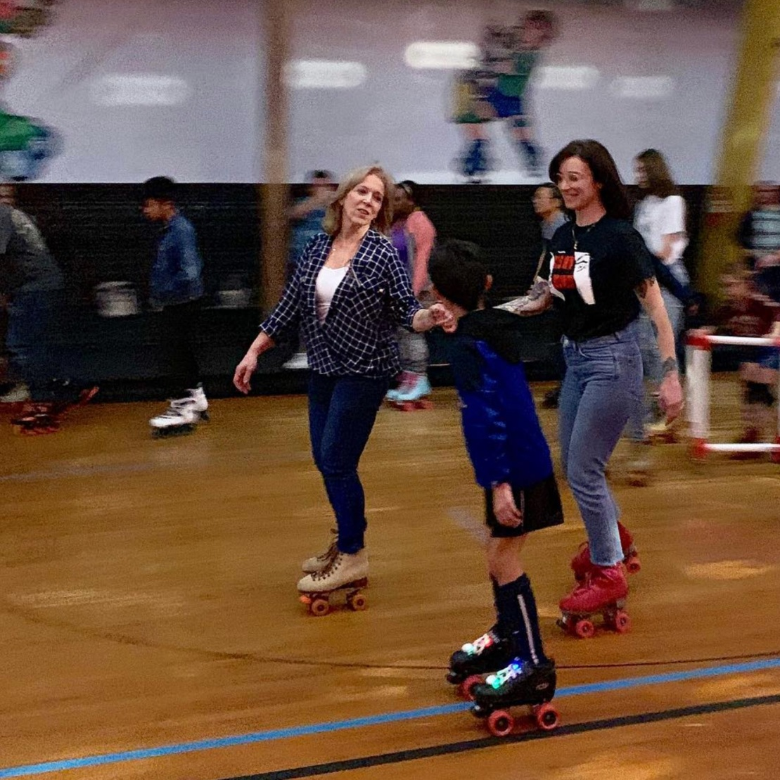 Come skate - Stressed? We are too. Don't forget to take care of yourself. What better way than skating? Come let loose!