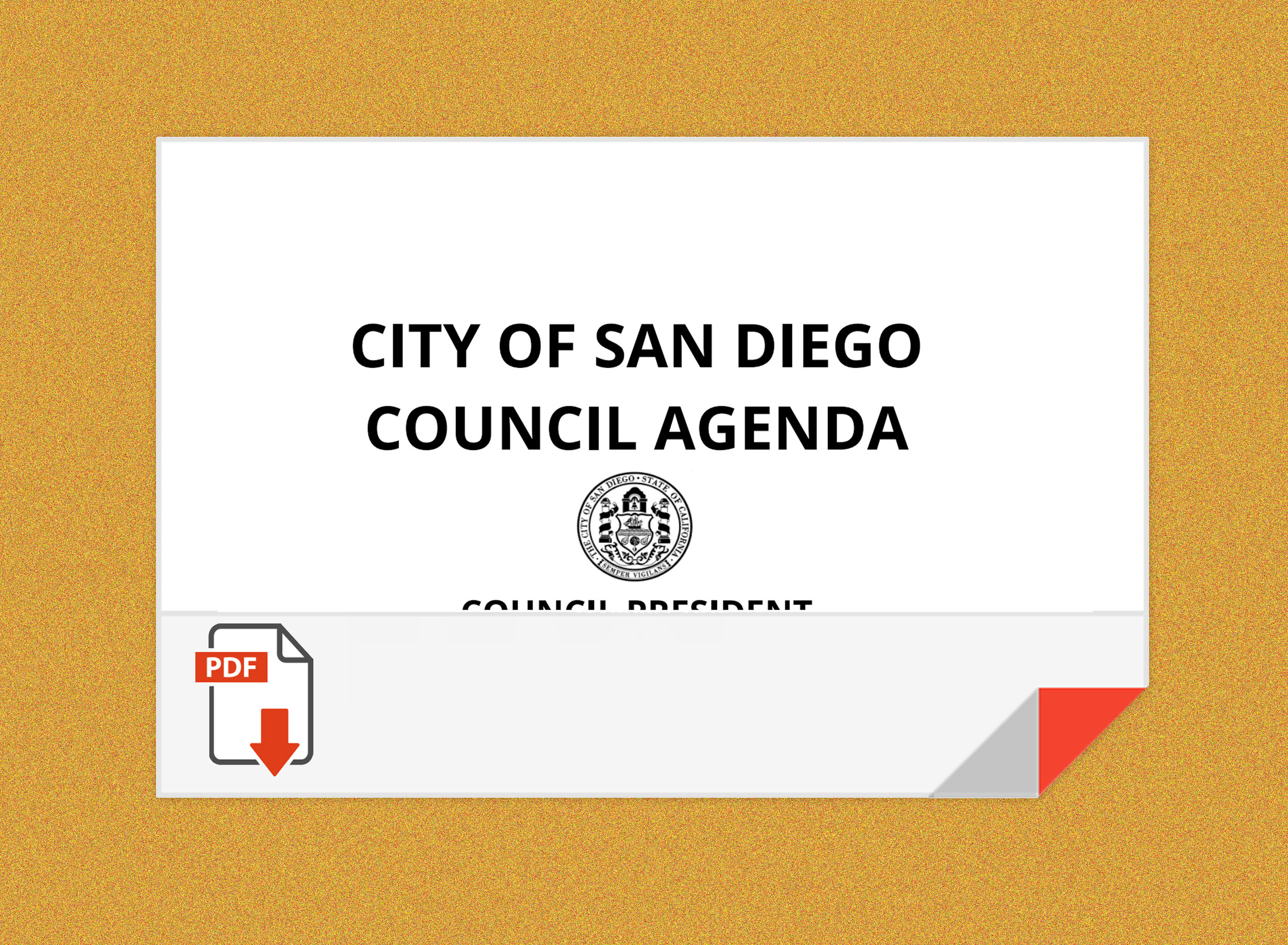 Download the Council docket here.