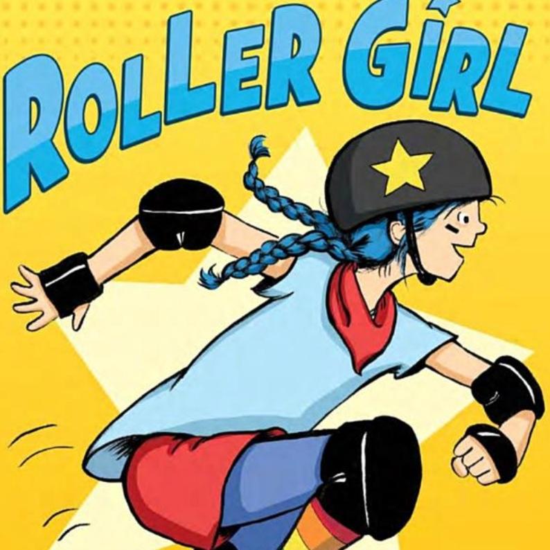 Roller Girl Children's Book