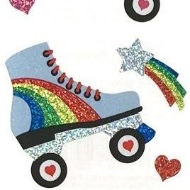 Rollerskate Stickers