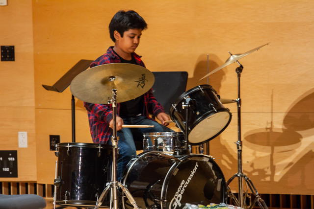 Drums! - Have a child with a lot of energy? Or just a huge fan of rock music? We have an amazing drum faculty!
