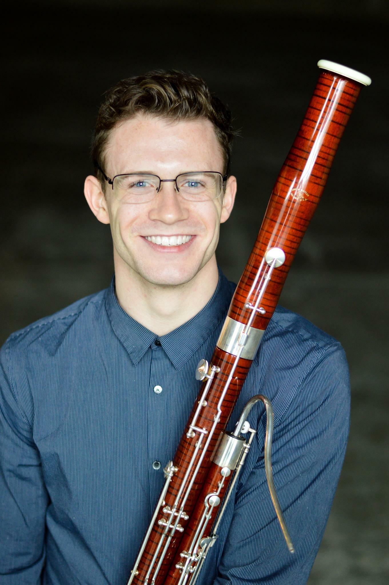 Garrett Brown (Advanced Bassoon, Beginner/Intermediate Woodwinds)