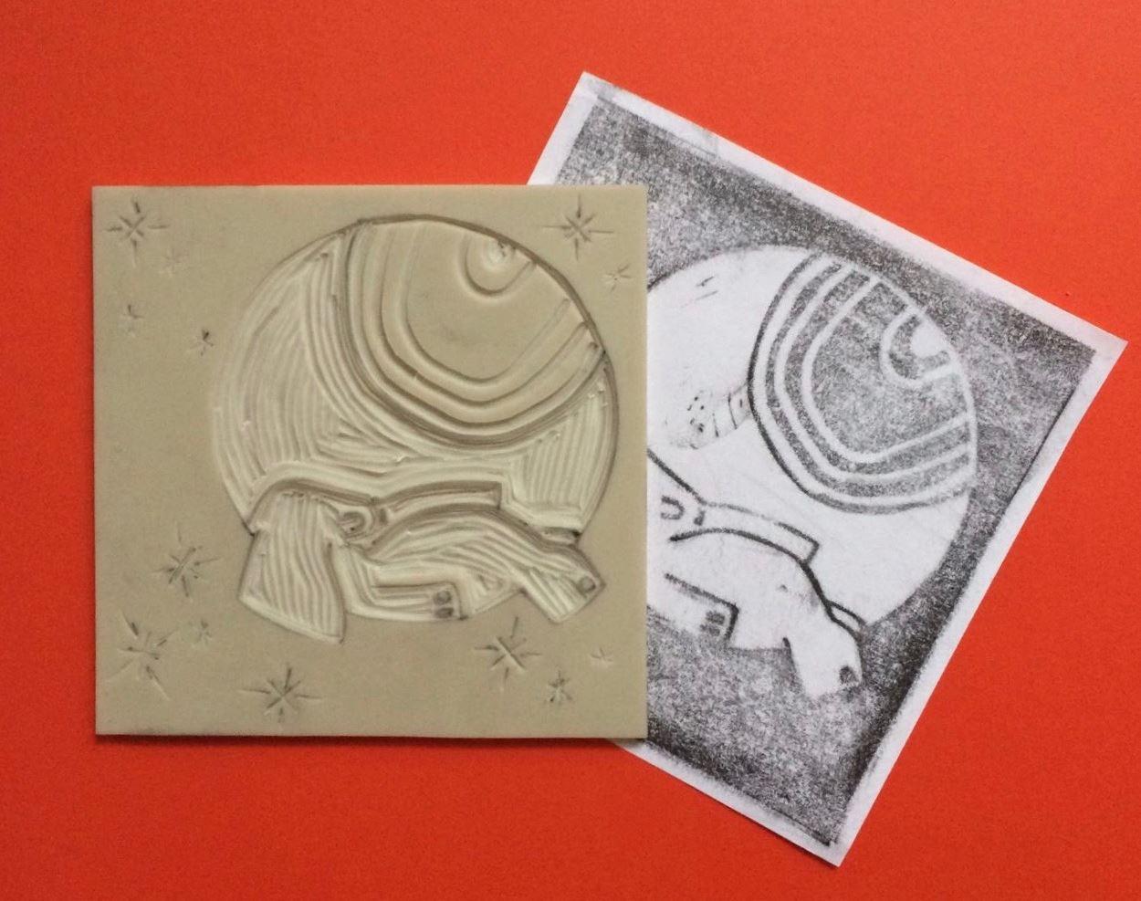 Linolschnitt_Elefant_Linocut_Elephant_Linoprint.jpg