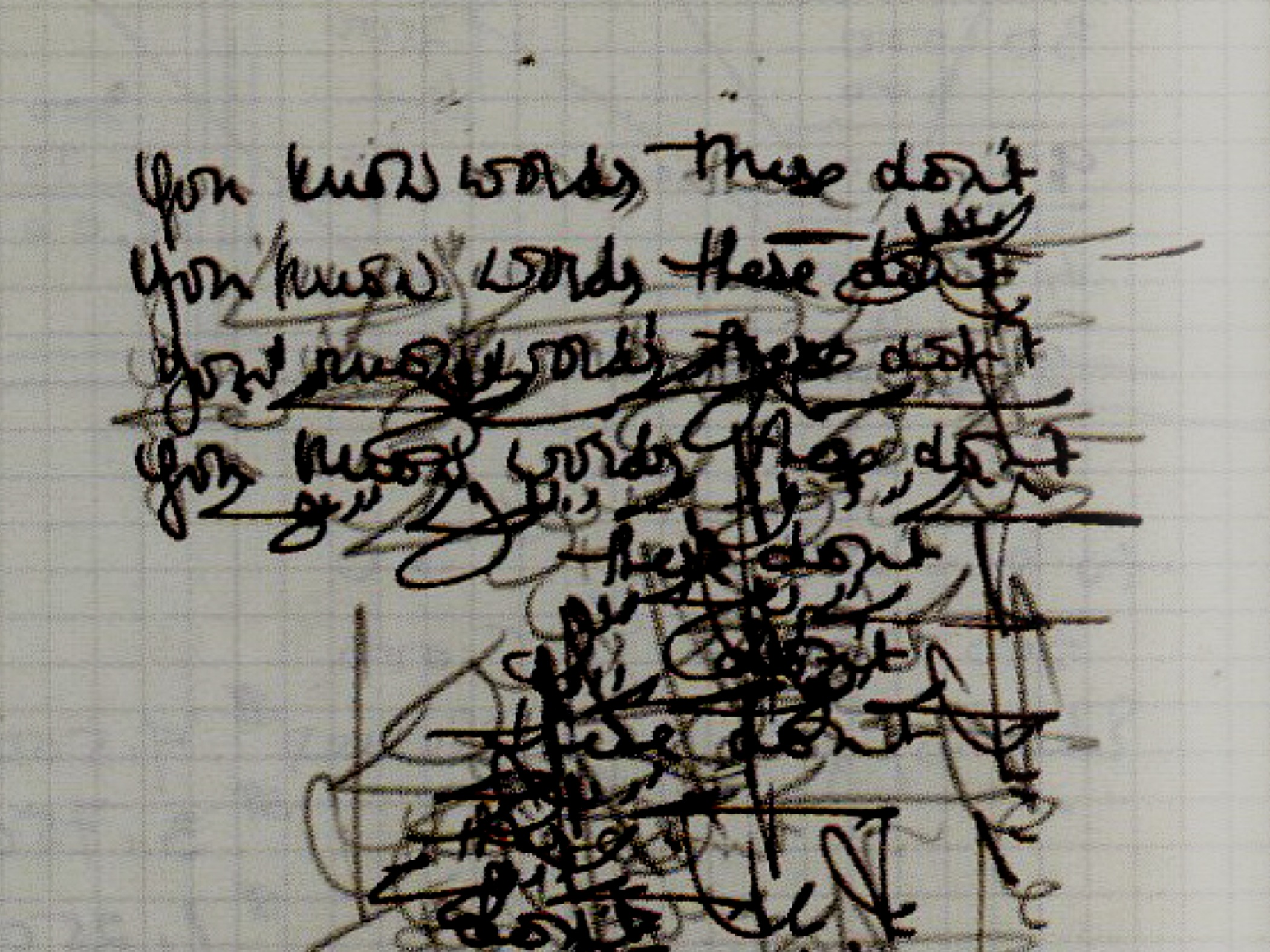 Asemic Writing Essay - Expressive Page Layout