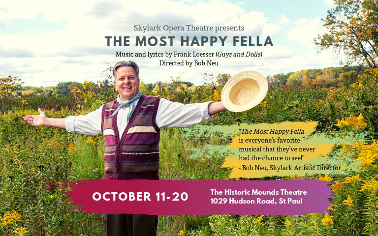 The Most Happy Fella - On Sale NOW! Click here for more info