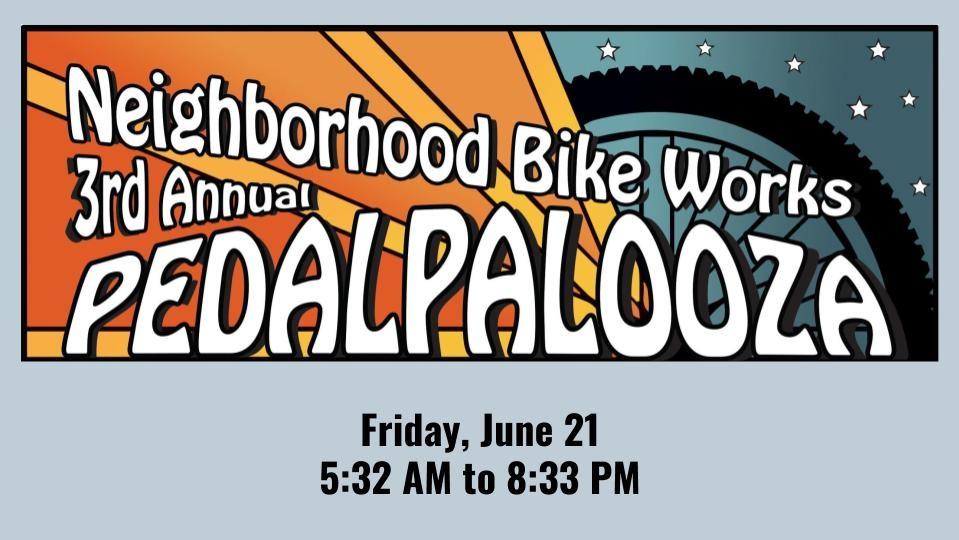 Save the Date: Pedalpalooza June 21