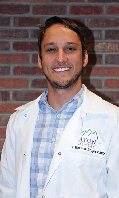 Josh Heimerdinger, DDS - Dr. Heimerdinger is always in motion, utilizing any opportunity to camp, cycle, ski, sail, or climb. He also spends time playing a handful of musical instruments including guitar, mandolin, saxophones and other woodwinds.