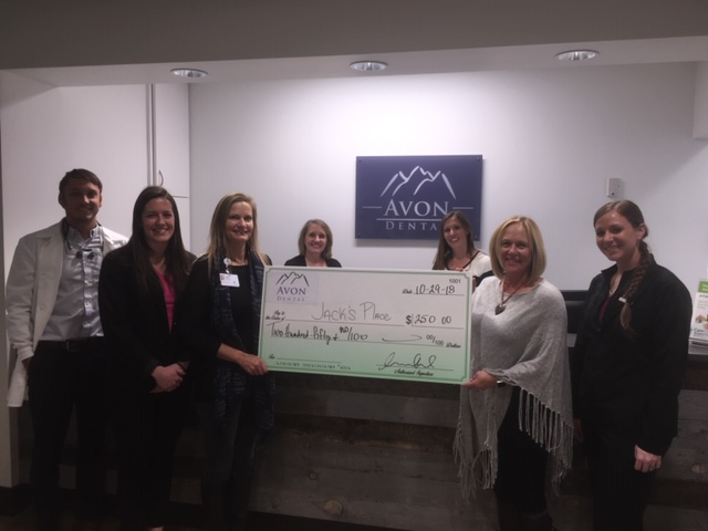 Avon Dental is proud to support Jacks Place.