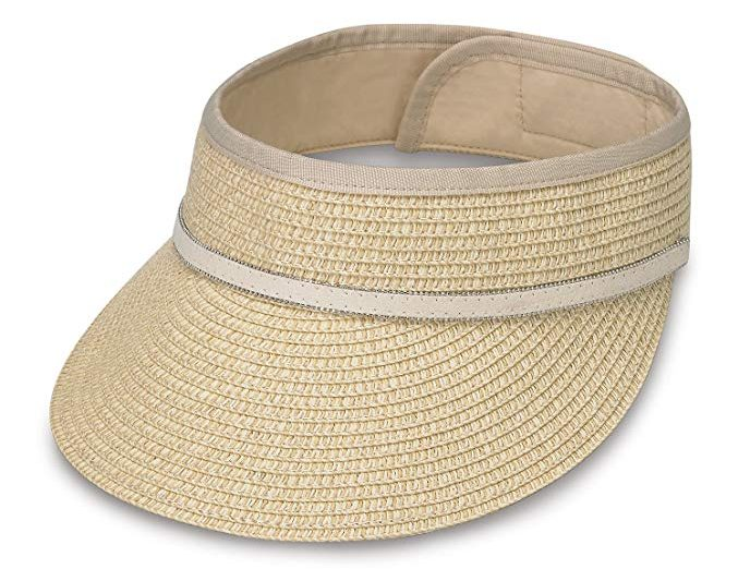 Wallaroo Hat Company Bianca Visor (Natural)