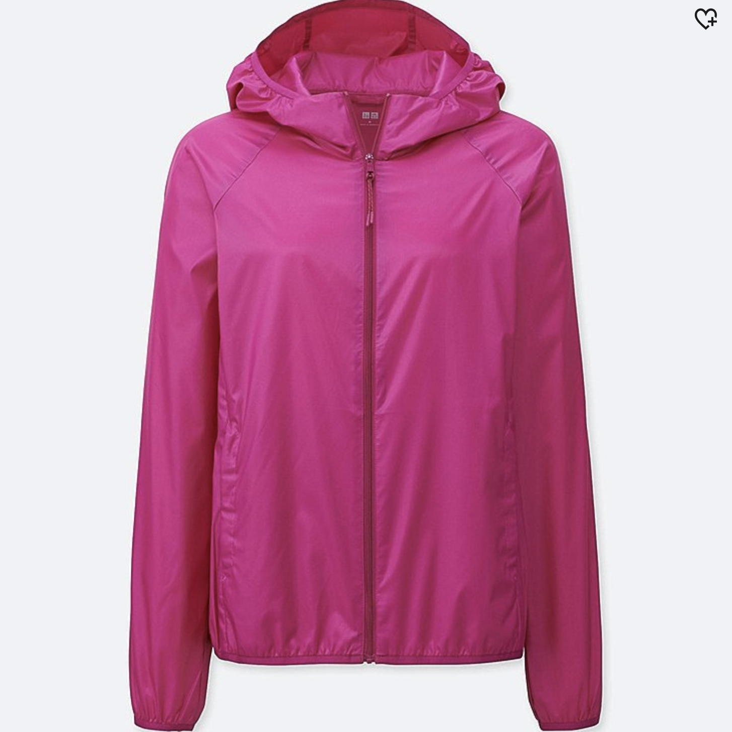 Lightweight Packable Hooded Jacket
