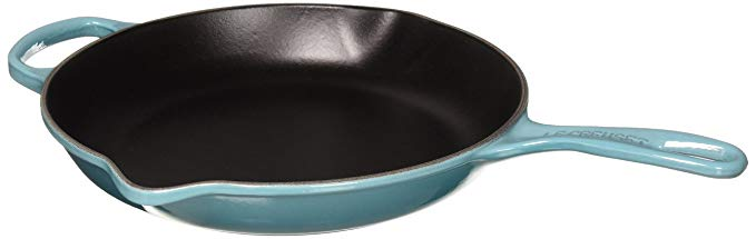 Amazon has an array of colors for all of their Le Creuset skillets and pans.