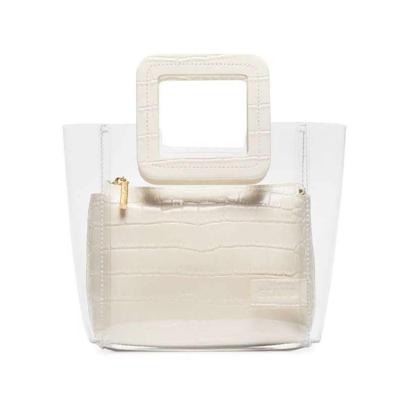 Photo: The Staud Mini Shirley handbag via mytheresa.com