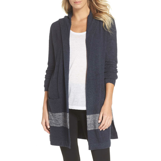 Barefoot Dreams Longline Hooded Sweater