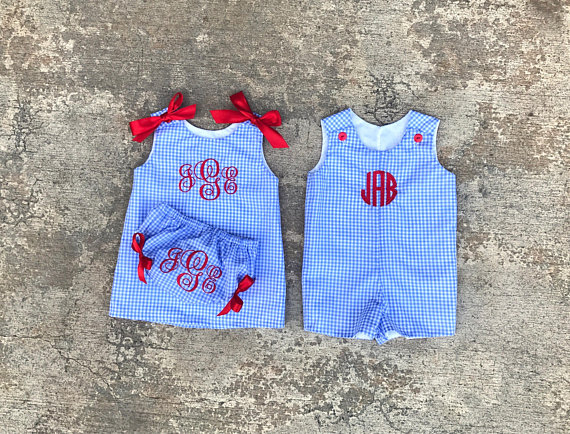 Matching 4th Of July Baby Outfits