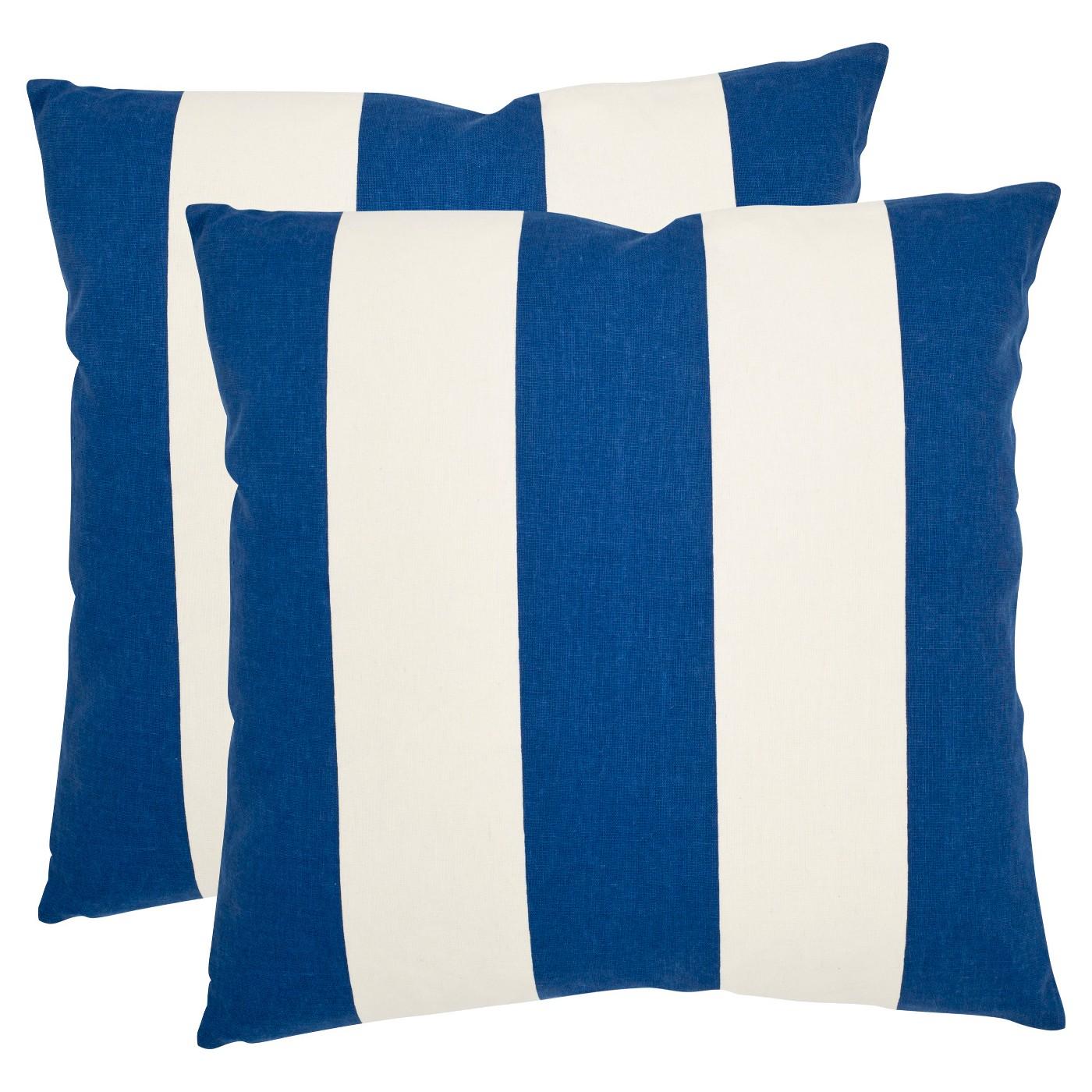 Stripe Up Throw Pillow