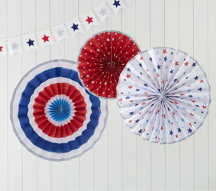 Red, White & Blue Pinwheels
