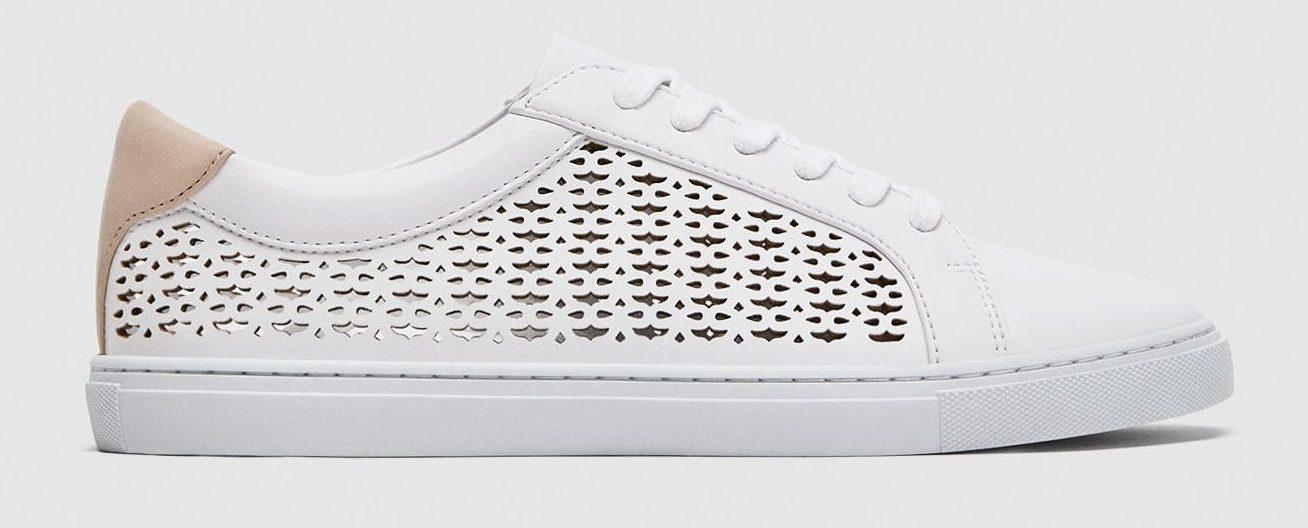 Zara – Die-Cut Sneakers