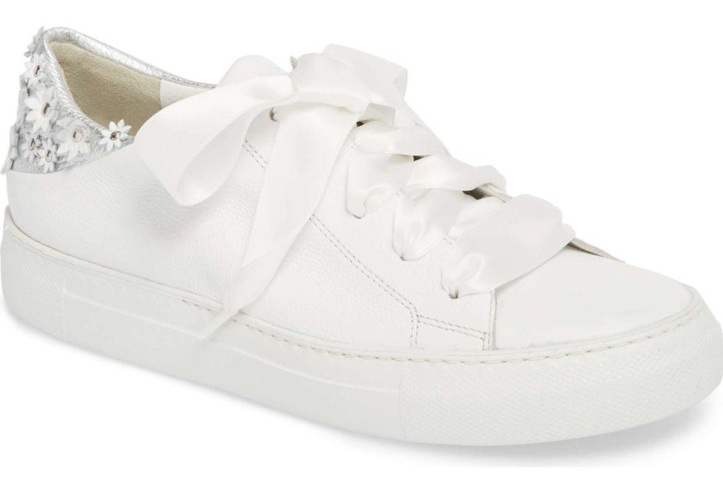 Paul Green – Serena Floral Embellished Sneaker