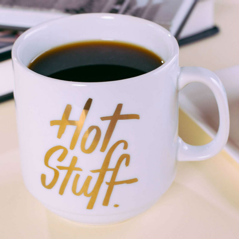Easy Tiger Hot Stuff Porcelain Mug