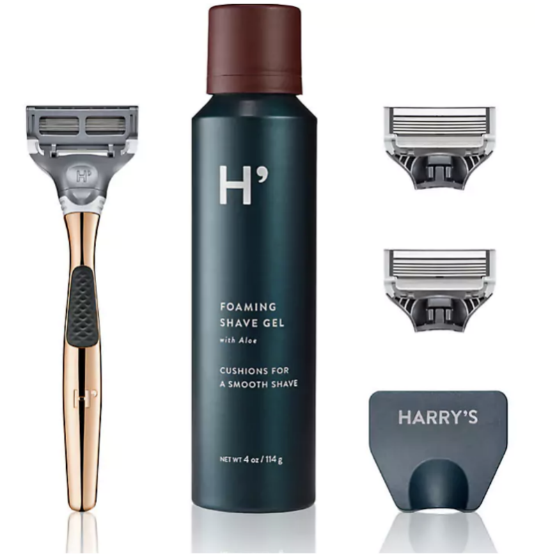 Harry's Winston Rose Gold Shave Set