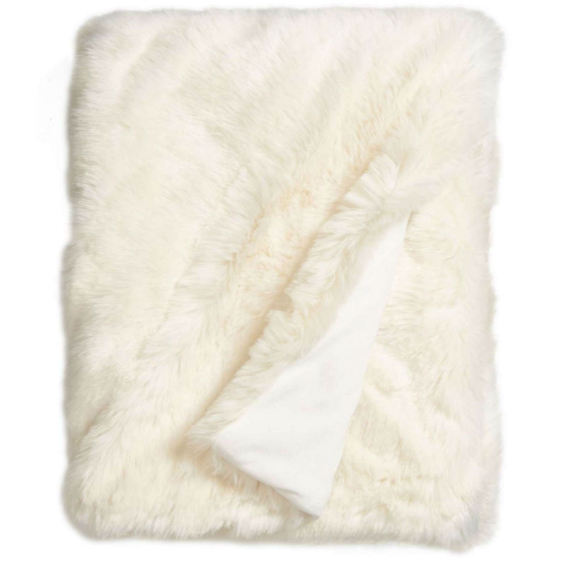 Cuddle Up Faux Fur Throw Blanket