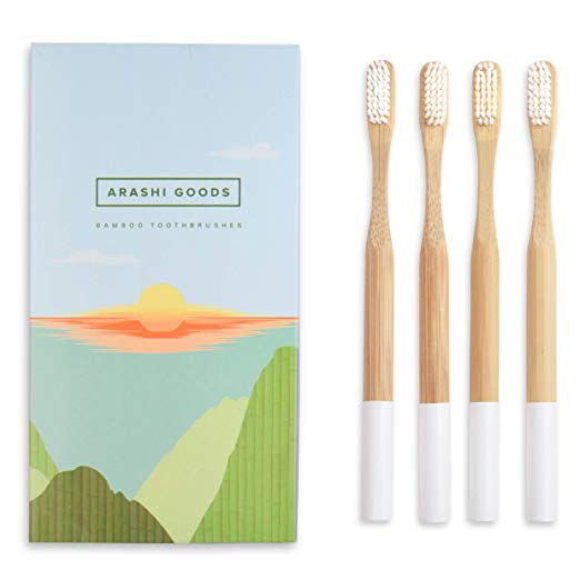 Plant-Based Bamboo Toothbrush
