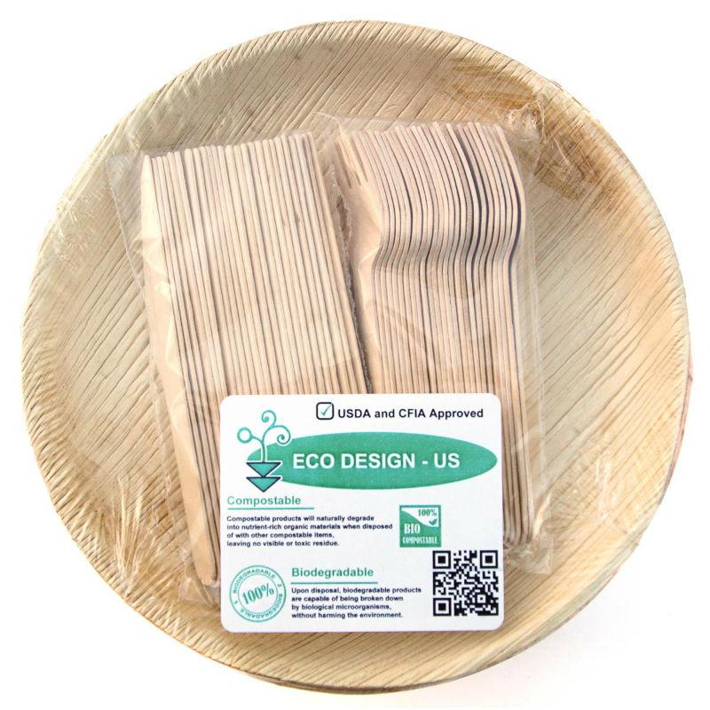 Eco-Friendly Disposable Dinnerware