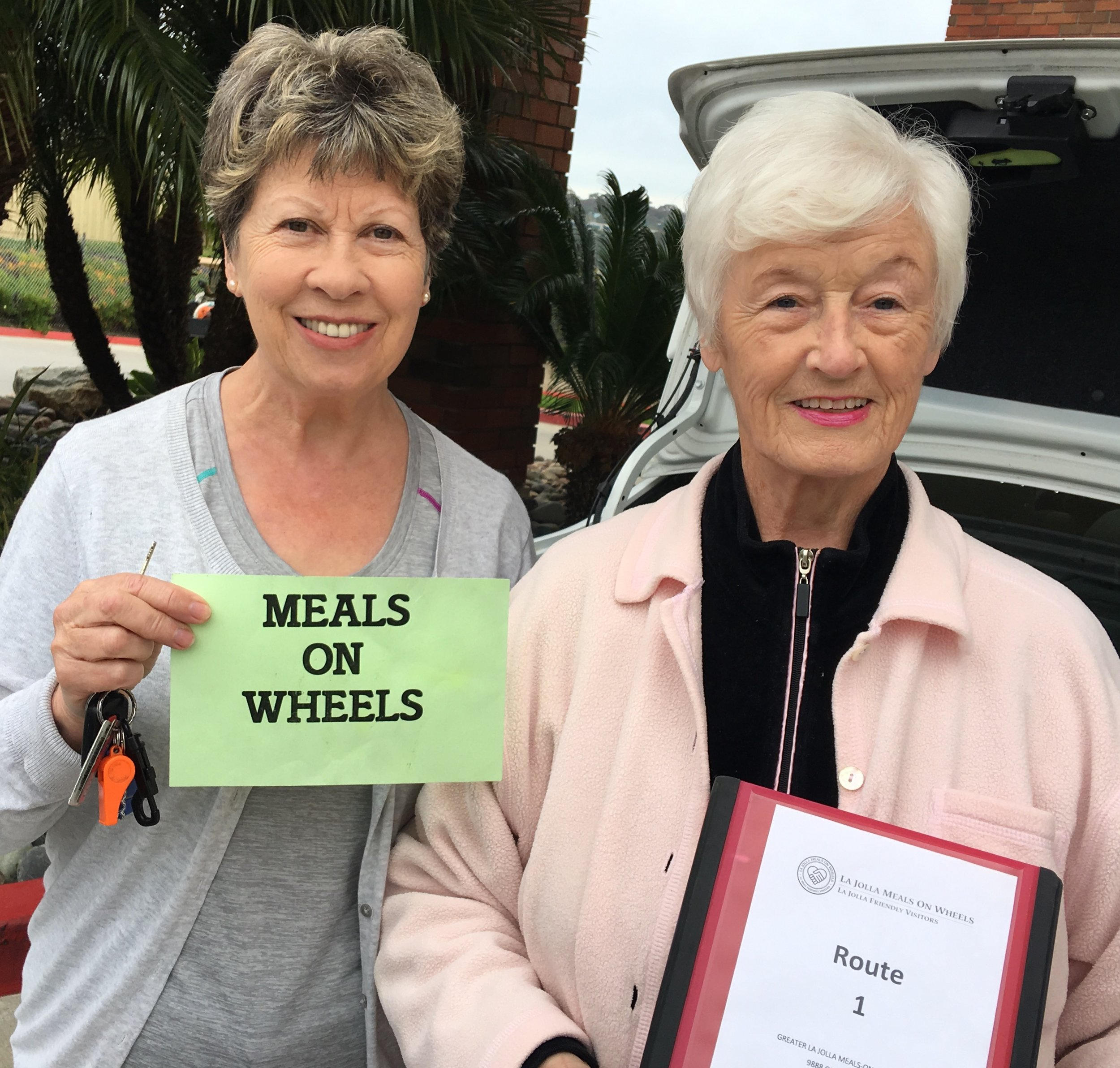 Get Involved - Interested in making a difference in your community?More than 60% of our volunteers have worked with La Jolla Meals On Wheels over 10 years and several have received their 25-year pins!