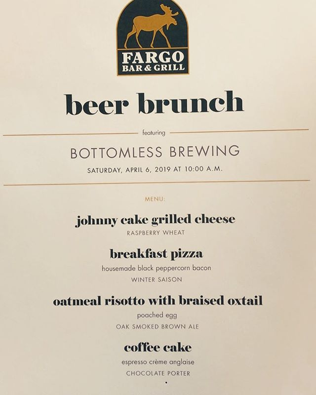 Hey guys it's not too late to snag a ticket to the @bottomlessbrewing_geneva Beer Brunch this Saturday 4/6! Hope to see you there! #flxfood #innsofaurora #fargobarandgrill #upstatefoodie #aurorany #brunch #beerwego