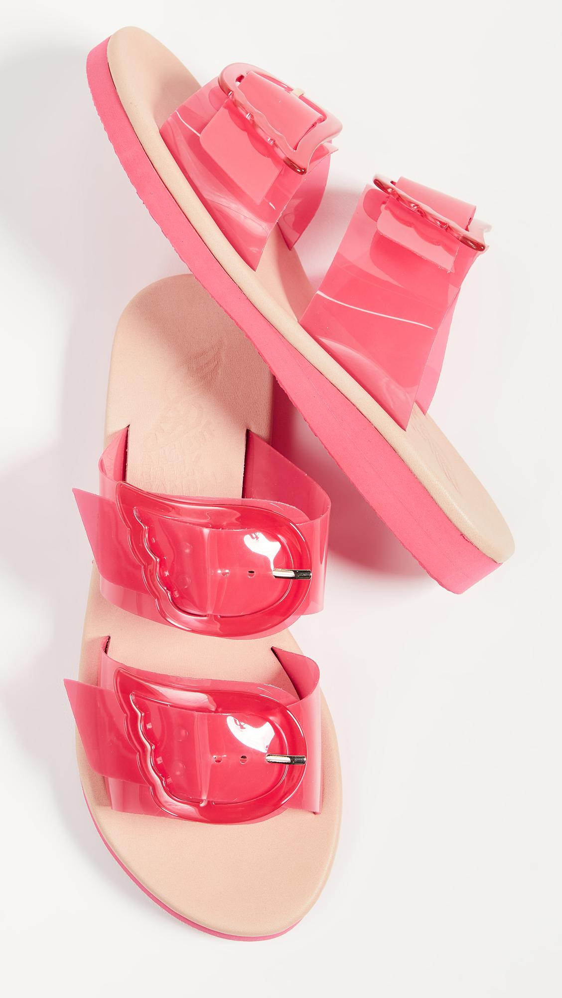 please remove sticker on bottom shoe strap. thx