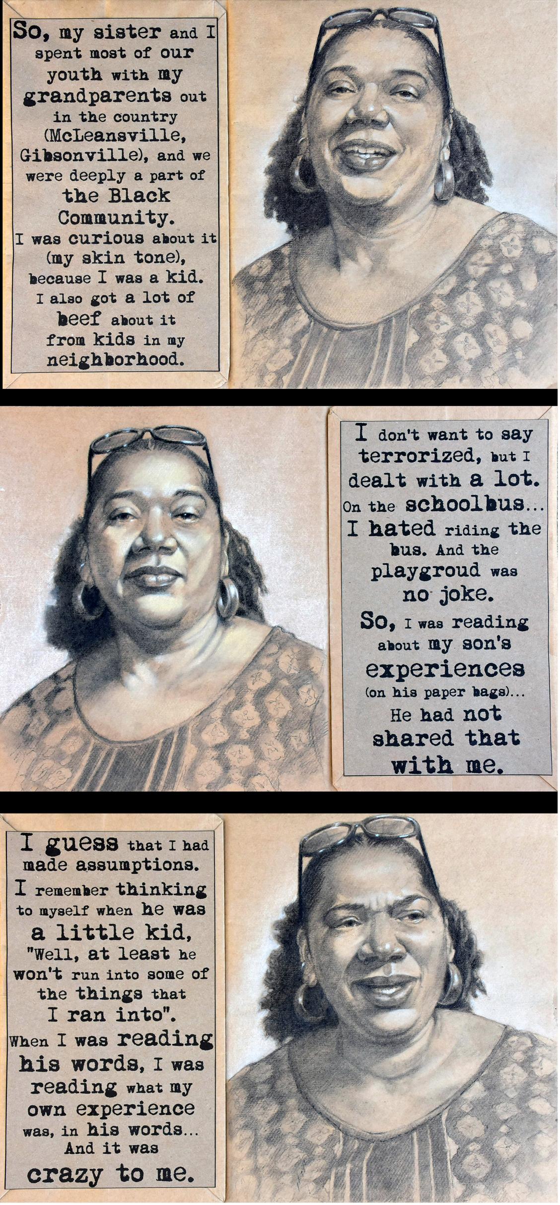 The Mother Harrington Interview I - III