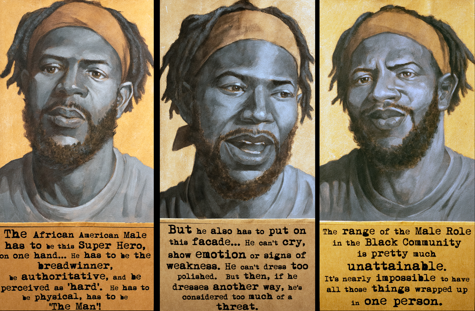 The Wilkes Interview (Triptych)