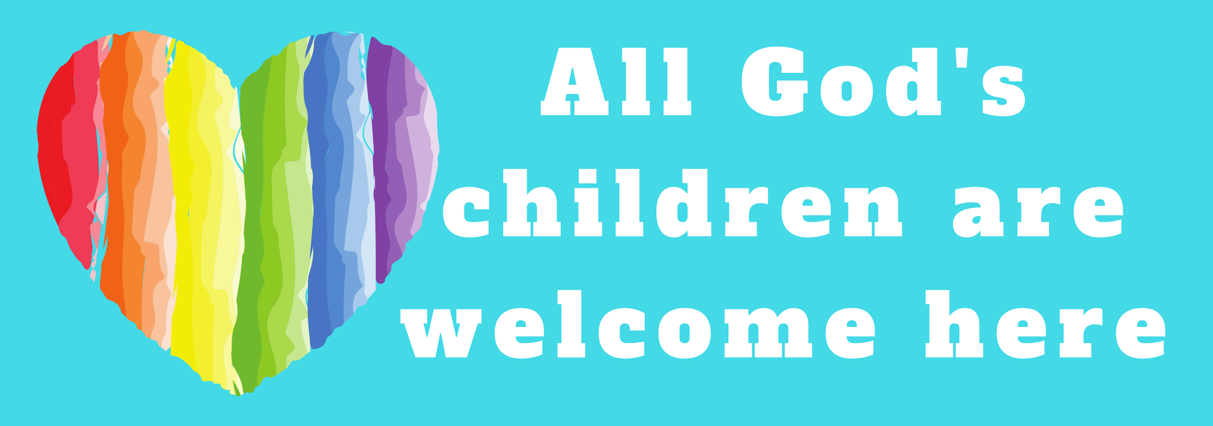 All God's Children are Welcome at CUMC!