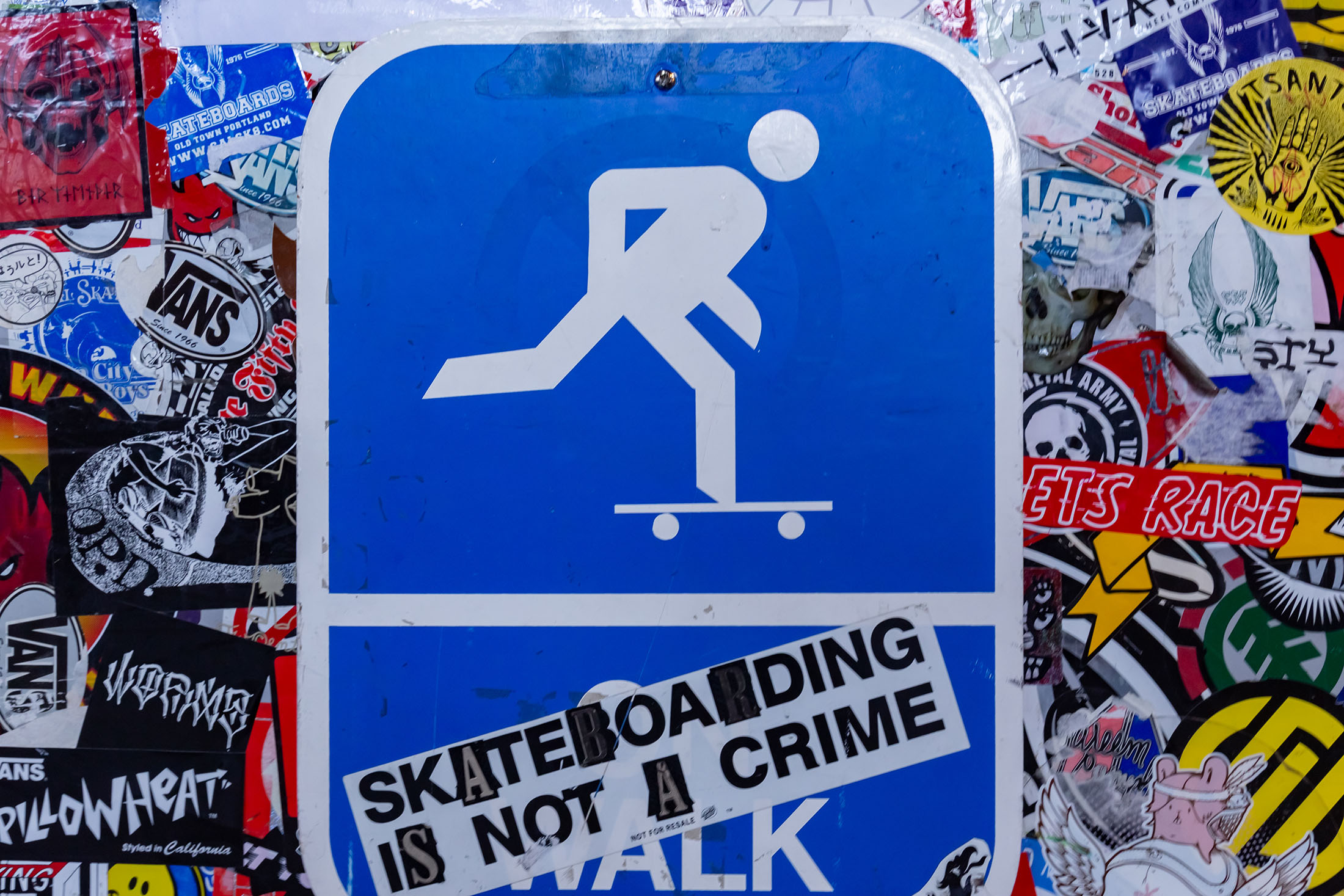 Skateboarding used to be a crime...
