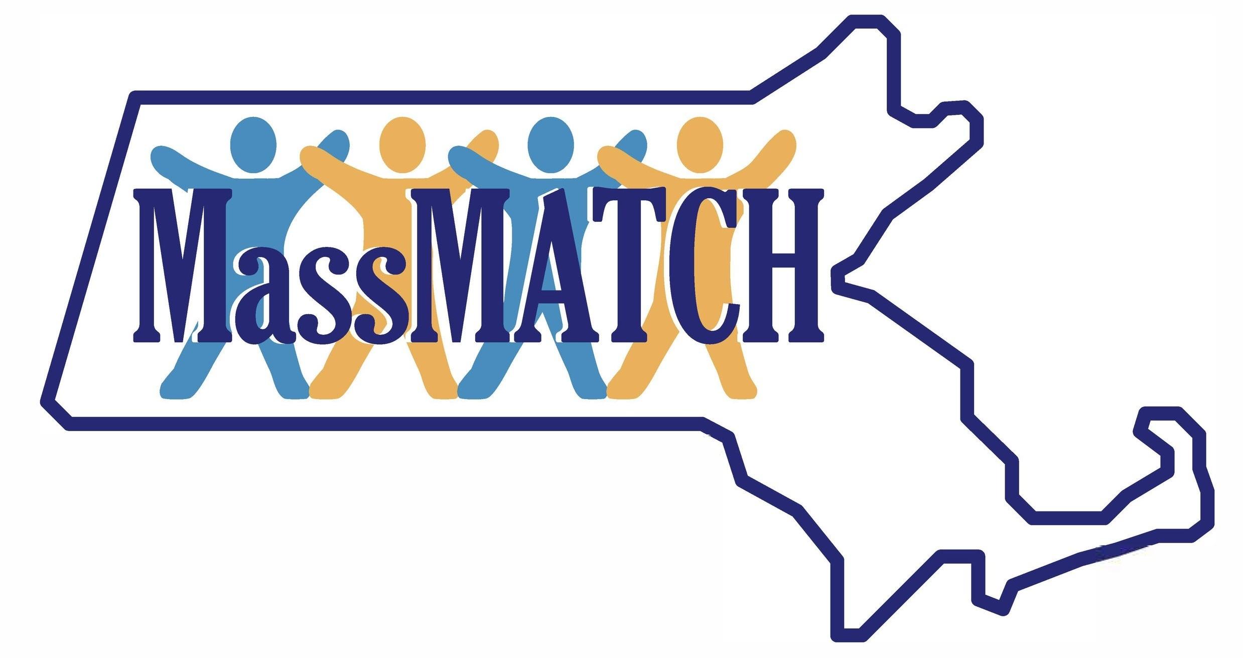 Mass match Logo. Maximizing assistive technology in consumer's hands