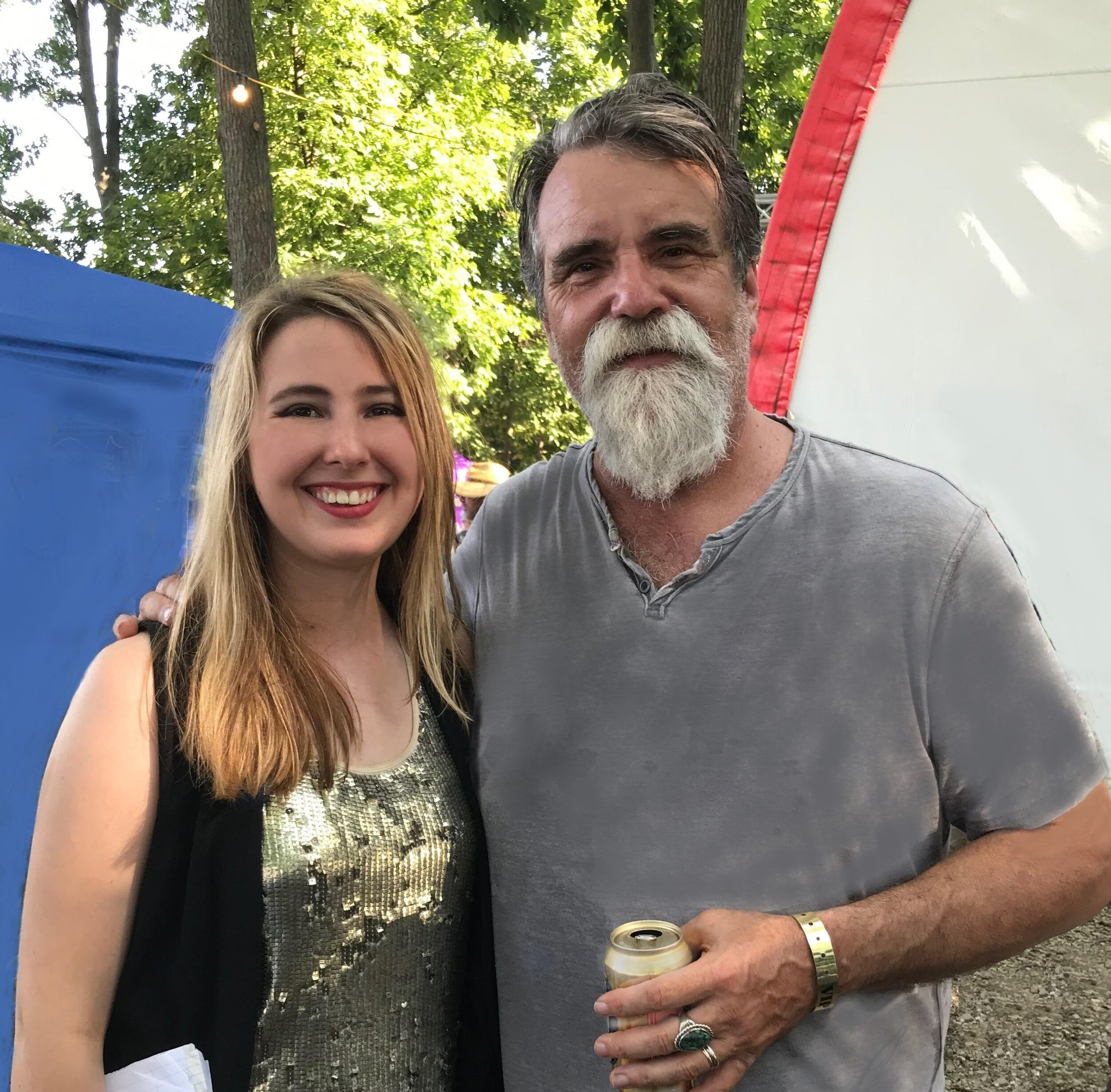 """I played before one of my heroes, the great songwriter, Darrell Scott, """"It's A Great Day to Be Alive"""" (Travis Tritt,) """"You'll Never Leave Harlan Alive"""" (Patty Loveless) """"Hearbreak Town"""" ( Dixie Chicks) and got to hang out with him backstage in the green room in Illinois."""