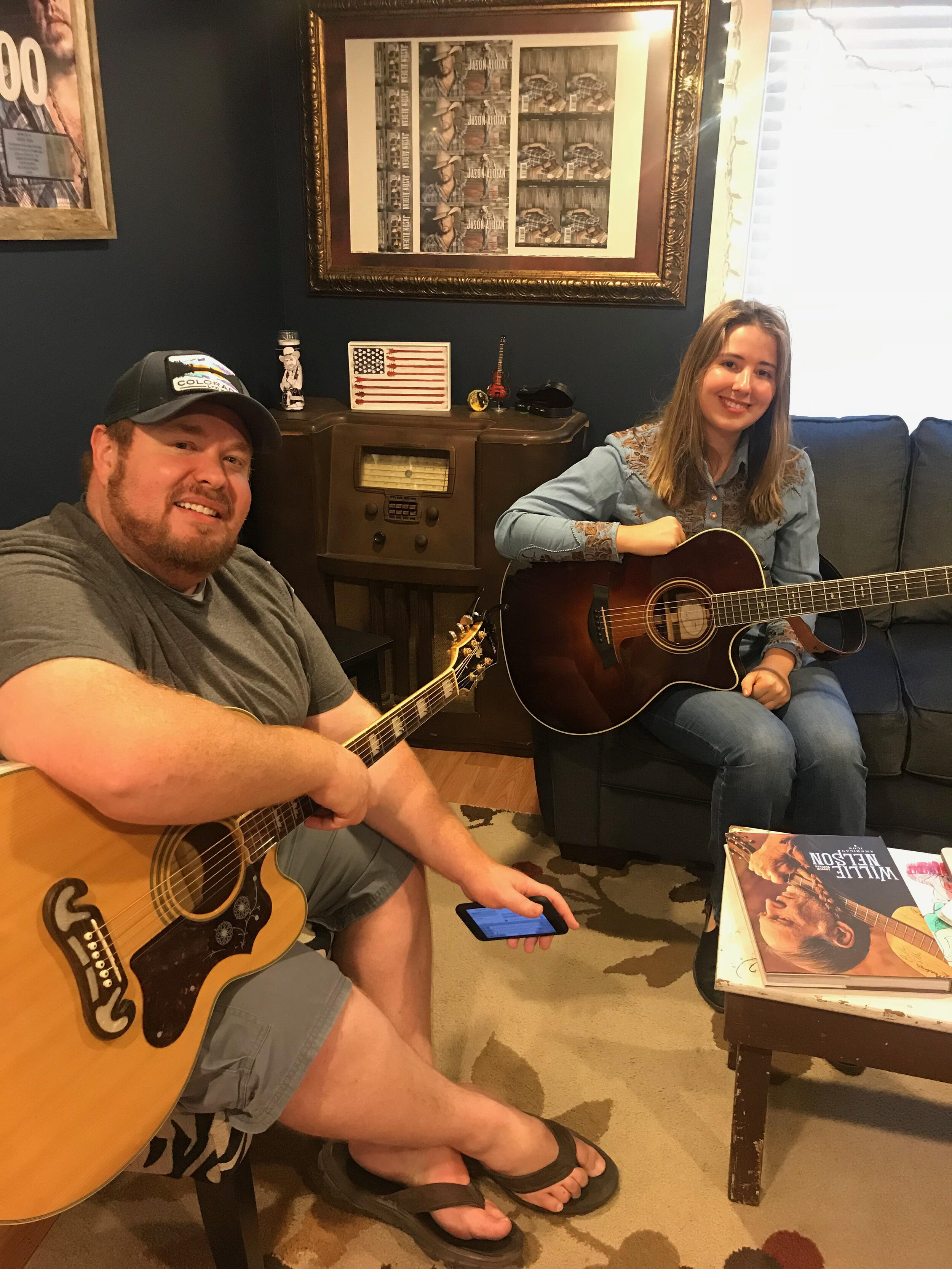 """Co writing in Nashville with Jayce Hein songwriter extraordinaire who penned """"My Kinda Party"""" (Jason Aldean)"""
